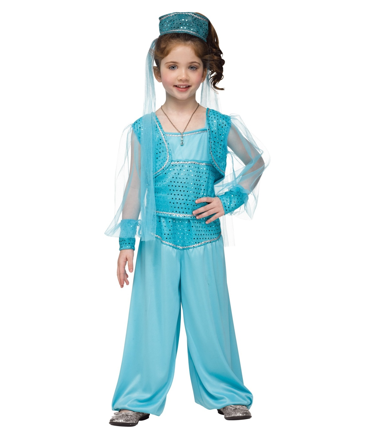 Magic Carpet Genie Toddler / Girls Costume - Disney Costumes Genie Girl Costume