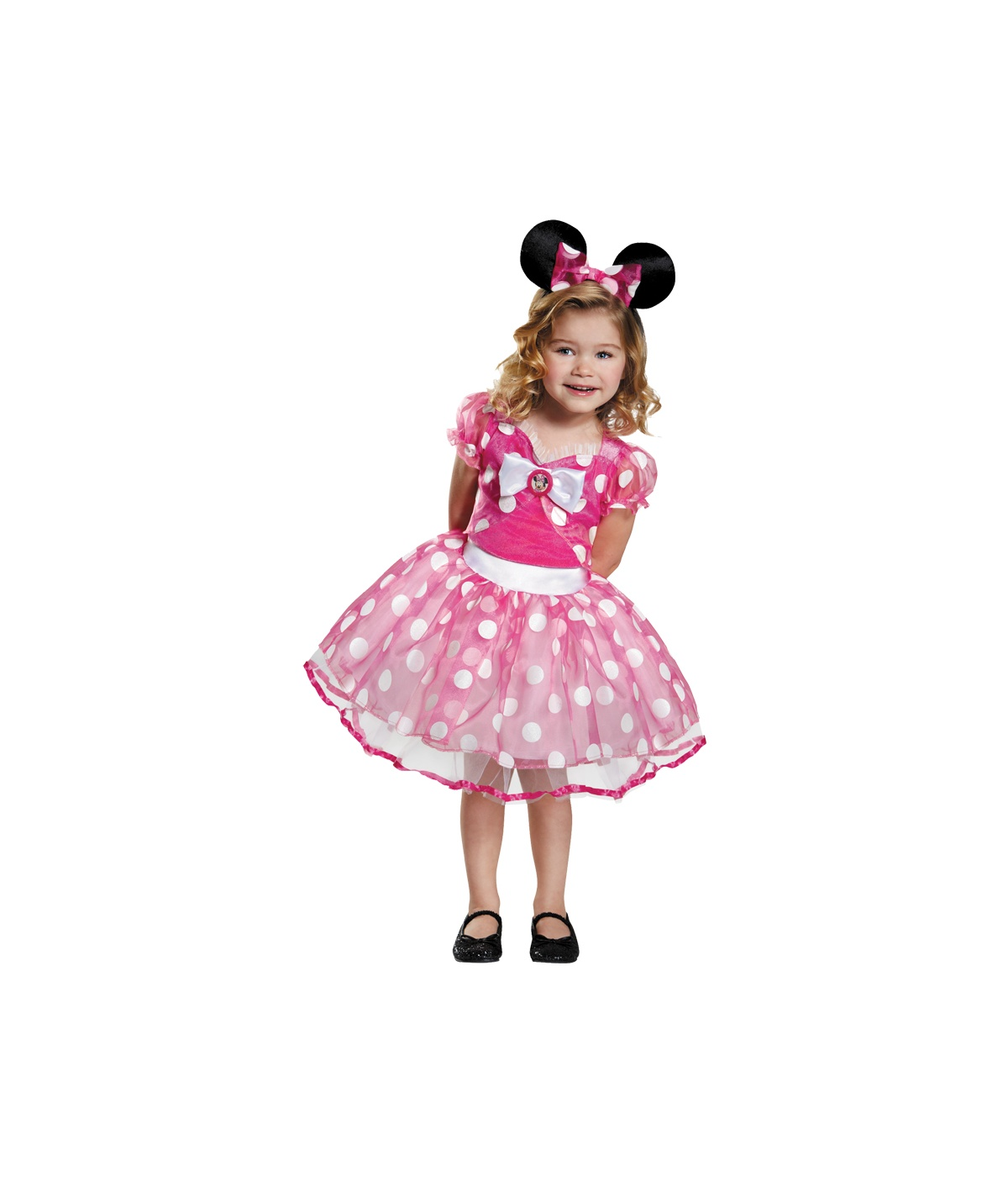 Pink Minnie Mouse Girls Tutu Dress Costume Accessories