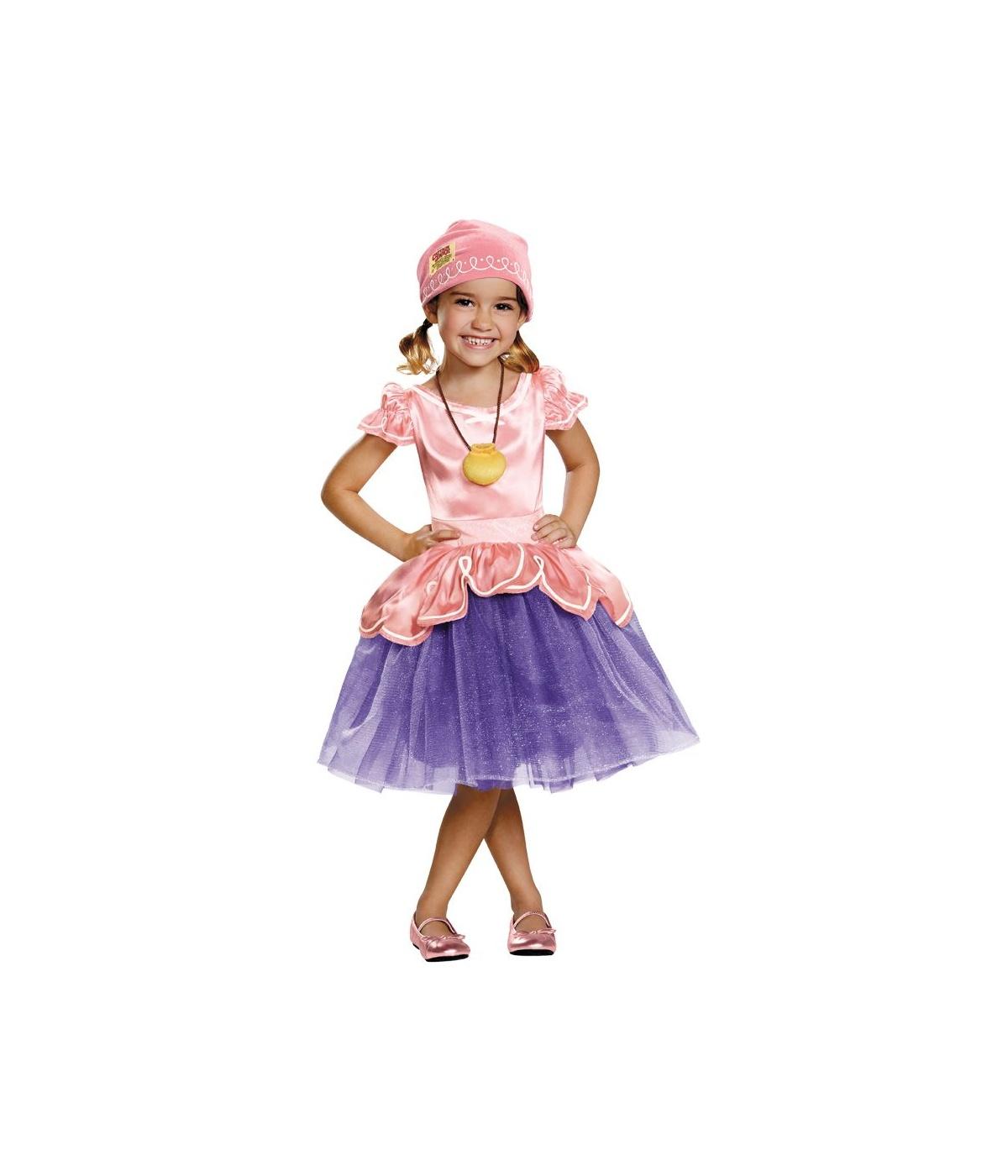 Jake and the Neverland Pirates Izzy Girls Toddler Costume ...
