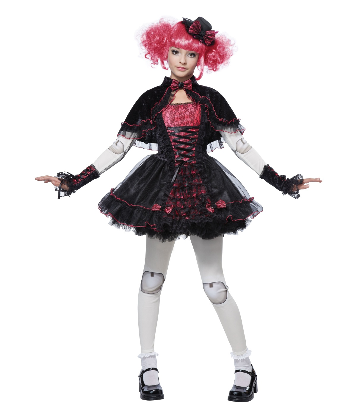 Girls Victorian Doll Costume