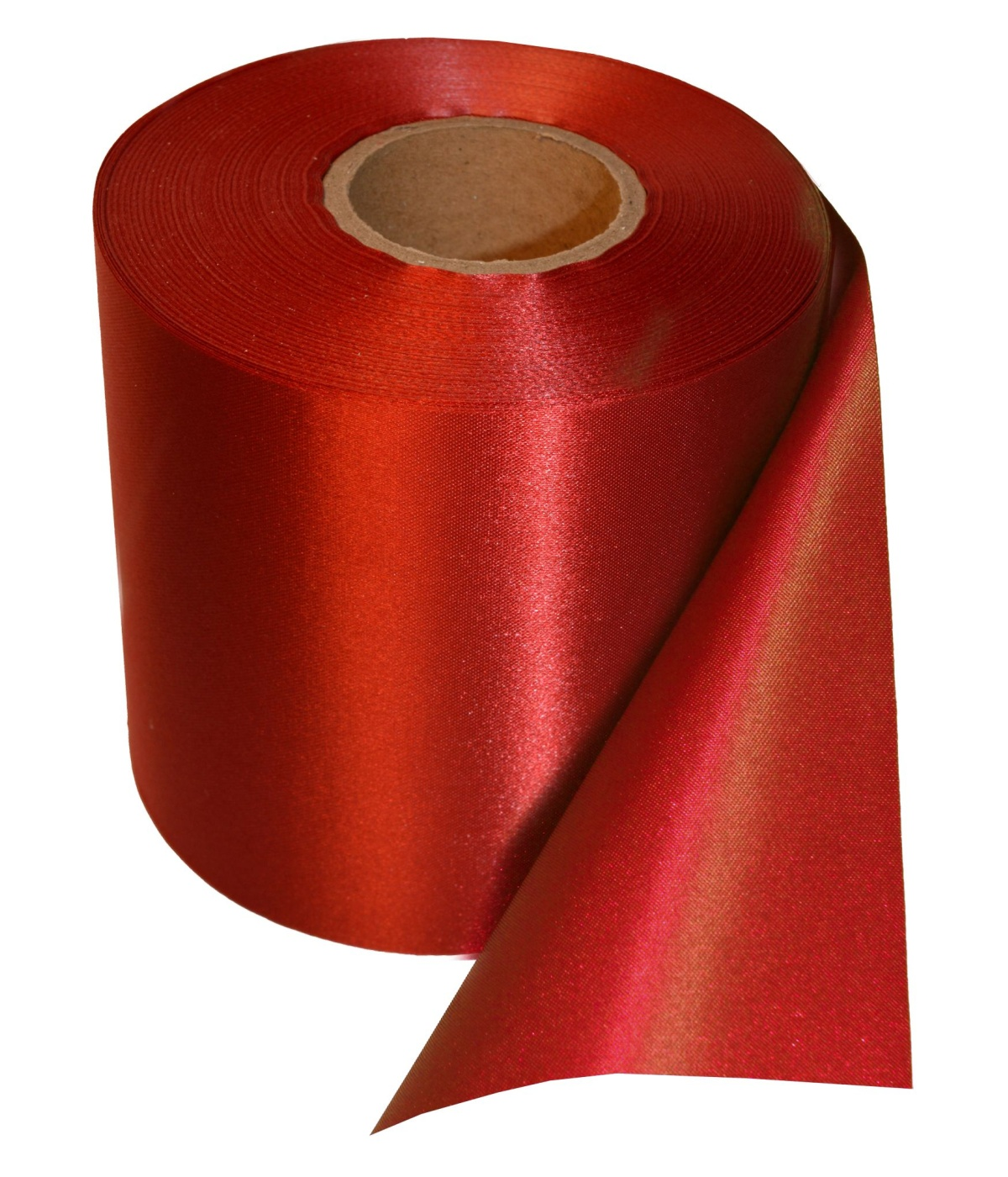 Red 4 Inch Ceremonial Grand Opening Ribbon 25 Yard Roll