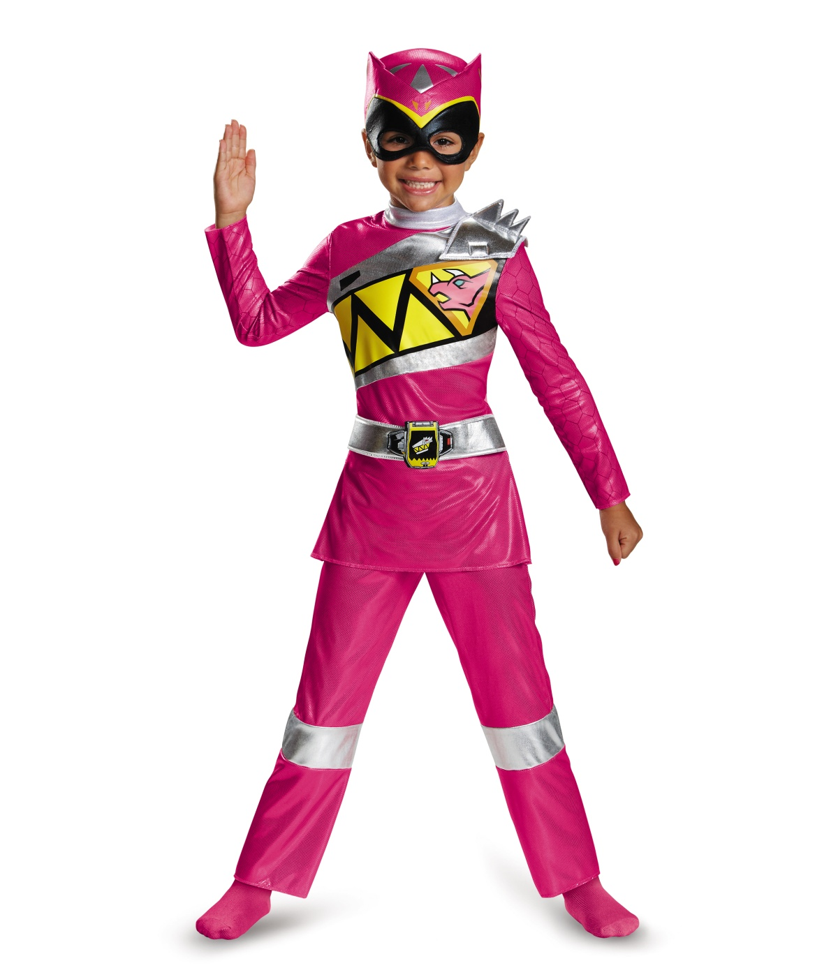 Pink Power Ranger Dino Charge Toddler Costume Tv Show