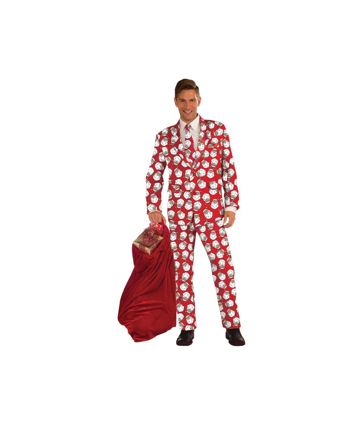 ... Adult Costumes → Mens Costume → Santa Claus Business Suit Costume Naughty Santa Claus Costume For Men