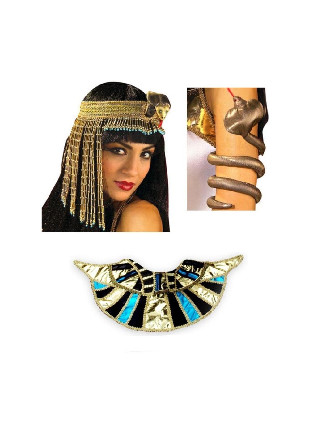 Cleopatra Pharaoh Transformation Womens Accessory Kit