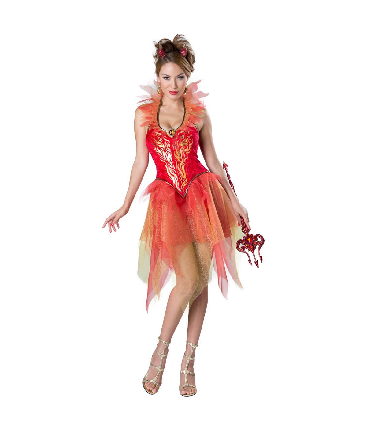 Fire Desire Womens Devil Costume