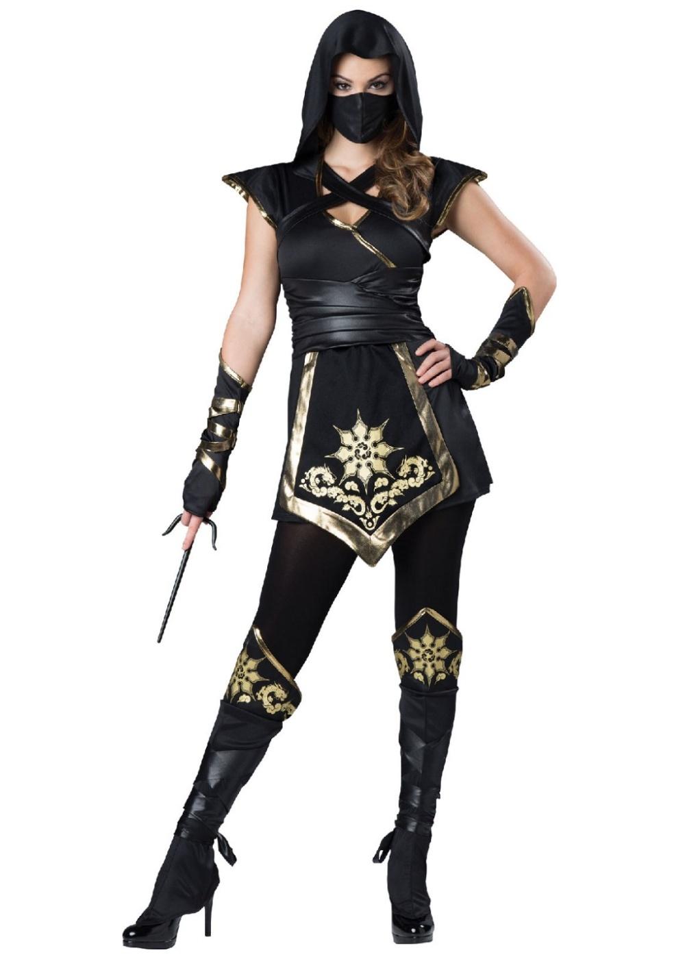 sexy sayonara ninja womens costume ninja costumes