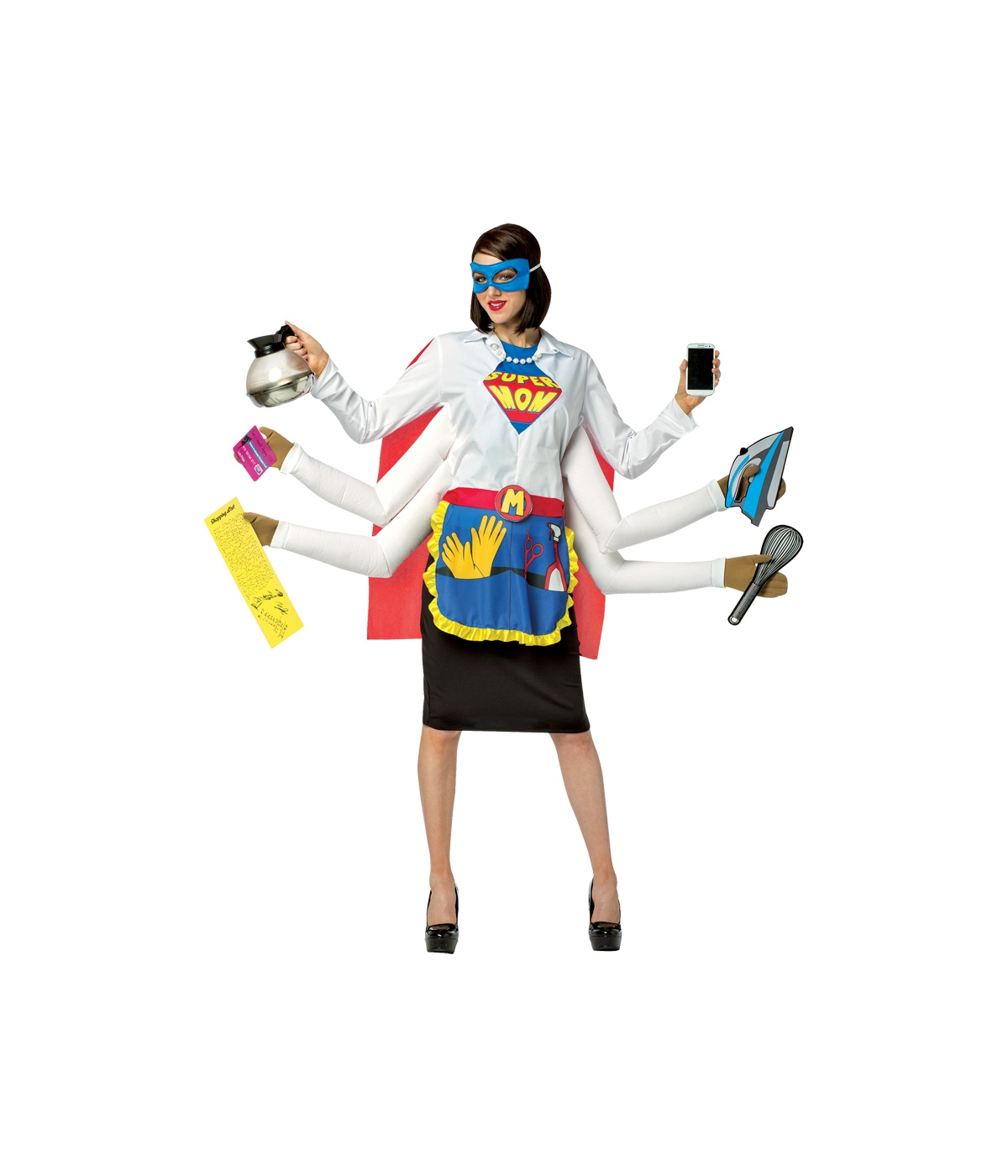 Strong Super Mom Women Costume Funny Costumes