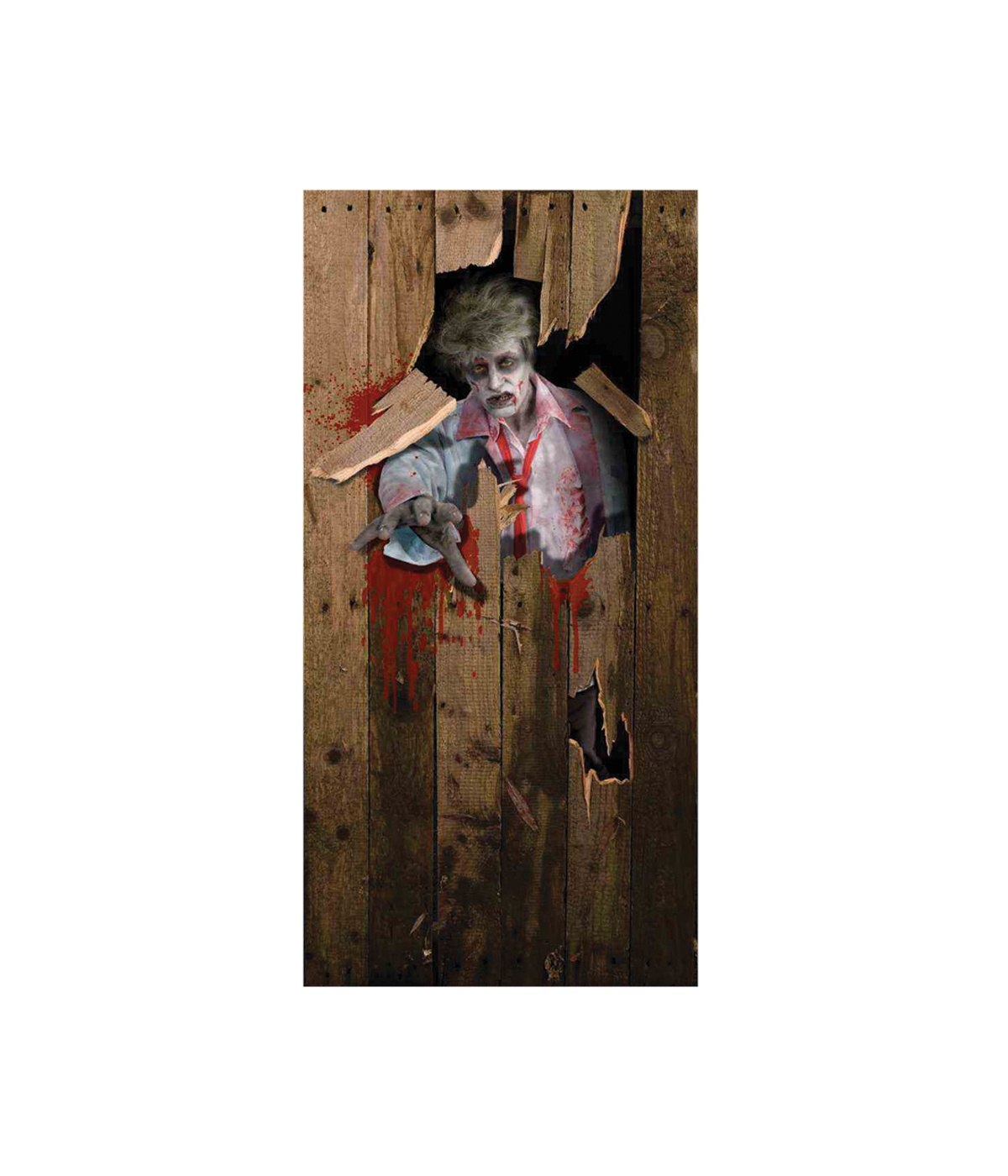 Zombie Door Cover Halloween Decoration Props Amp Decorations