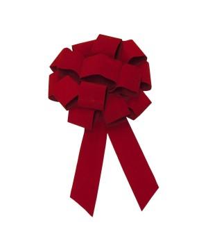 24 inch Red Velvet Bow