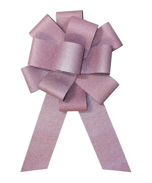 25 inch Diamond Light Pink Bow