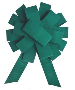 43 inch Green Velvet Grand Opening Bow