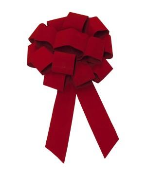 43 inch Red Velvet Grand Opening Bow