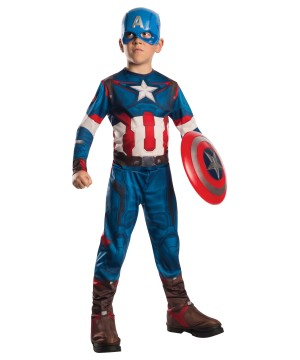 Age of Ultron Captain America Boys Costume