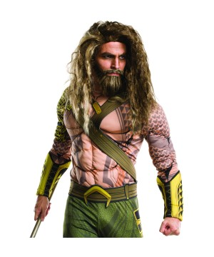 Batman V Superman Aquaman Beard and Wig
