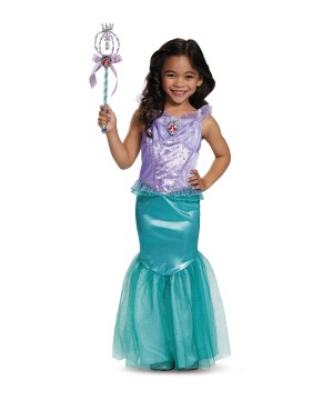 Ariel Disney Girls Costume deluxe