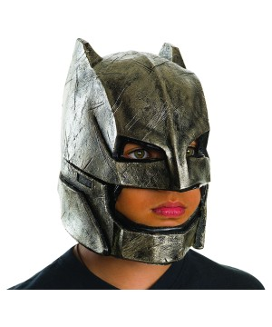 Boys Batman V Superman Armored Batman full Mask