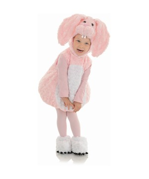 Baby Bunny in Pink Baby Toddler Costume