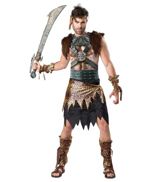 Barbarian Warrior Men Costume