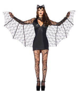 Bat Dress Women Costume