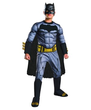 Batman V Superman deluxe Batman Muscle Boys Costume