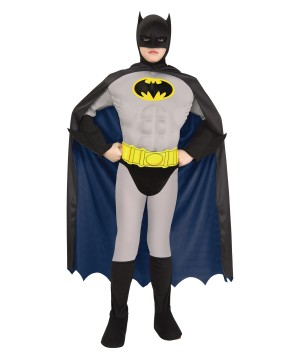 Batman Muscle Toddler Boys Costume