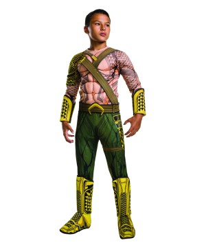 Batman V Superman Aquaman Boys Costume deluxe