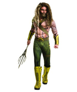 Batman V Superman Aquaman Men Costume