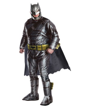 Batman V Superman Batman Armo plus size Men Costume