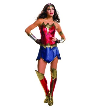 Batman V Superman Wonder Woman Women Costume deluxe