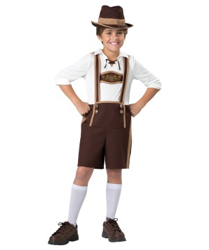 Bavarian Guy Boys Costume