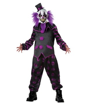 Bearded Clown Men Costume