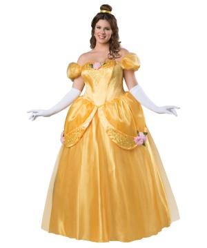 Beautiful Princess plus size Women Costume
