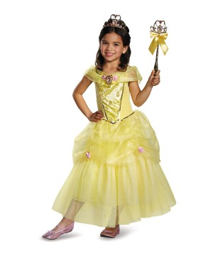 Belle Disney Girls Costume deluxe