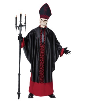 Black Mass Men Costume