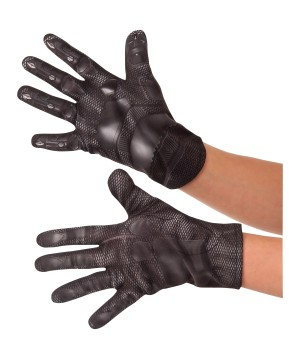 Black Panther Boys Gloves