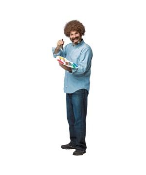 Bob Ross Men Costume