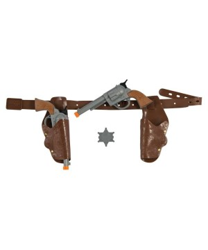Boys Gun and Holster Costume Accessory