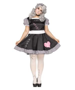 Broken Doll plus size Women Costume