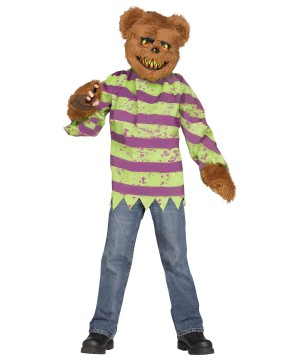 Brown Killer Bear Boys Costume