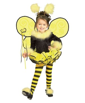 Bumble Bee Cutie Girl Costume Kit