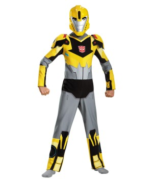 Transformers Bumblebee Animated Boys Costume