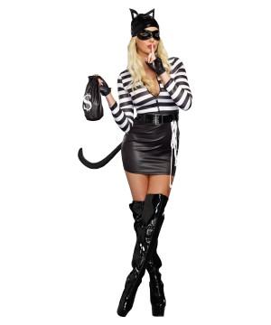 Burglar Women Costume