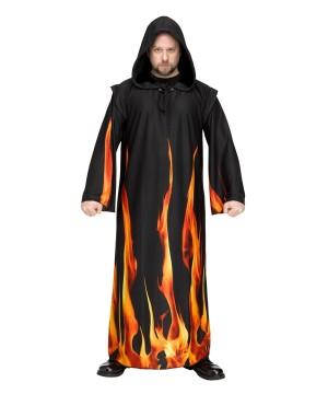 Burning Robe Men Costume
