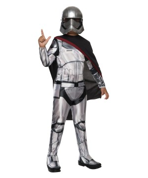 Star Wars Captain Phasma the Force Awakens Girls Costume