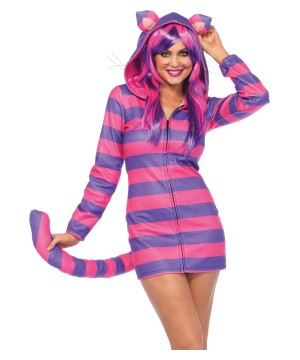 Cheshire Cat Cozy Women Costume