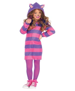 Cheshire Cat Cozy Girls Costume