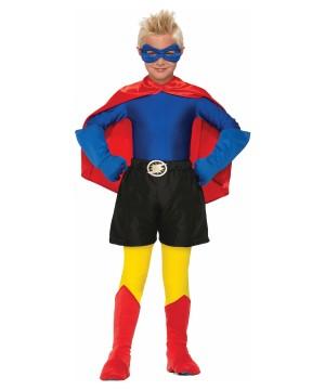 Kids Superhero Boys Shirt