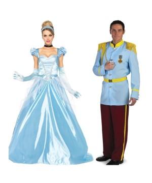 Cinderella and Prince Charming Couple Costume Kit