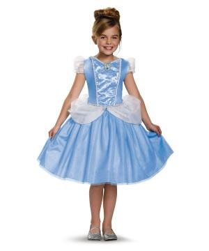 Girls Cinderella Classic Costume