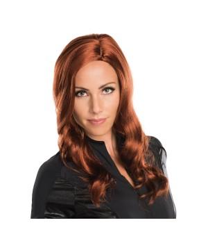 Civil War Black Widow Women Wig